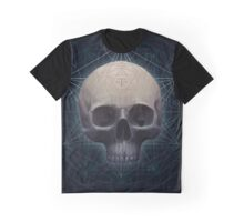 Occult Skull Graphic T-Shirt