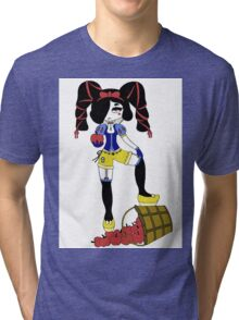 Snow Bad by Lolita Tequila Tri-blend T-Shirt