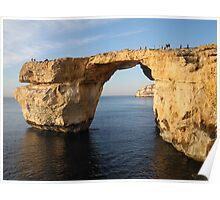Azure Window, Gozo, Malta Poster