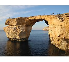 Azure Window, Gozo, Malta Photographic Print