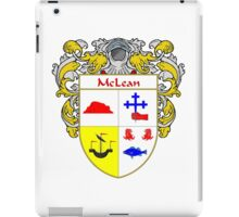 McLean Coat of Arms/Family Crest iPad Case/Skin