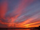Fiery Sunset by Vicki Spindler (VHS Photography)