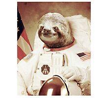 Astro Sloth Photographic Print