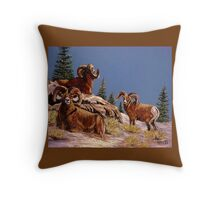"""We Three Kings"" Throw Pillow"