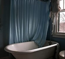 Blue Bathroom, NY by Marissa Mancini