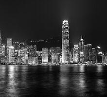 Monochrome Hong Kong  by Shaun Jeffers Photography