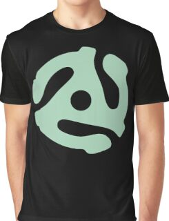 vinyl record green adapter Graphic T-Shirt