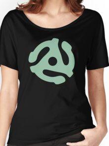vinyl record green adapter Women's Relaxed Fit T-Shirt