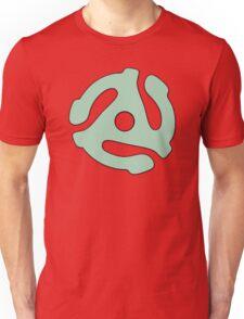 vinyl record green adapter Unisex T-Shirt