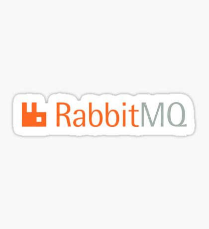 rabbit open source message broker software Sticker