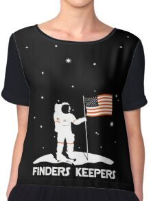 4th July   Finders Keepers Astronaut Chiffon Top