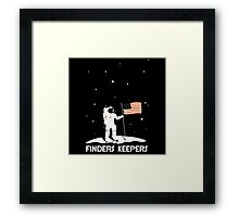 4th July | Finders Keepers Astronaut Framed Print