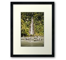 Thunder Creek Falls  Framed Print