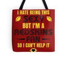 Redskins Fan Girl Quote Tote Bag