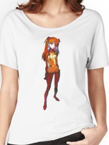 Neon Genesis Evangelion - Asuka Langley Soryu Women's Relaxed Fit T-Shirt