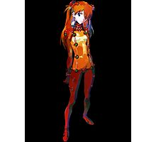 Neon Genesis Evangelion - Asuka Langley Soryu Photographic Print