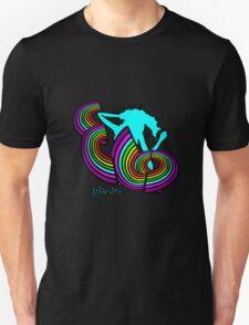 ELO Glastonbury 2016 unigrid rainbow Logo Unisex T-Shirt