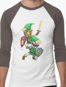 Hyrulogic Men's Baseball ¾ T-Shirt