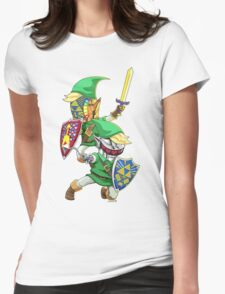 Hyrulogic Womens Fitted T-Shirt