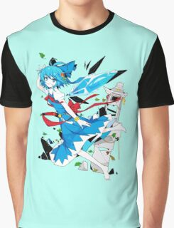 Touhou - Cirno Graphic T-Shirt
