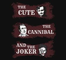 the cute, the cannibal and the joker (Will Hannibal Mason) by FandomizedRose