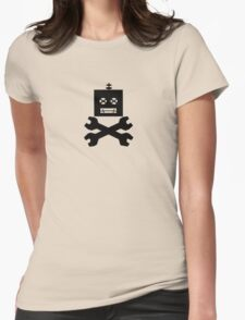 Robot-Pirates!  Womens Fitted T-Shirt
