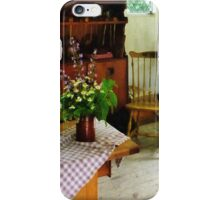 Wildflowers on Kitchen Table iPhone Case/Skin