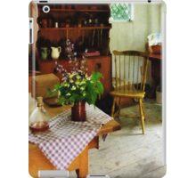 Wildflowers on Kitchen Table iPad Case/Skin