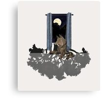 That very night a forest grew Canvas Print