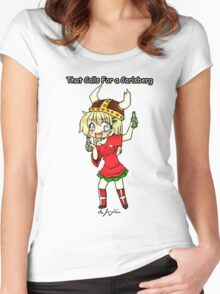 THAT CALLS FOR A CARLSBERG Women's Fitted Scoop T-Shirt