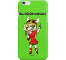 THAT CALLS FOR A CARLSBERG iPhone Case/Skin