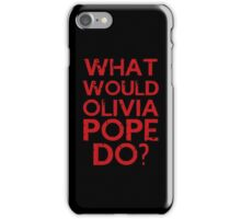 olivia iphone iPhone Case/Skin