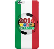 2014 World Champs Ball - Italy iPhone Case/Skin