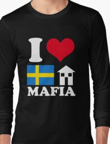 I Love Swedish House Mafia Long Sleeve T-Shirt