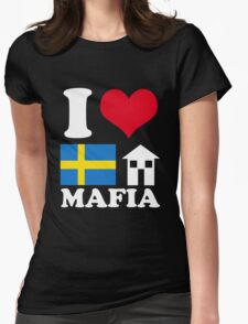 I Love Swedish House Mafia Womens Fitted T-Shirt