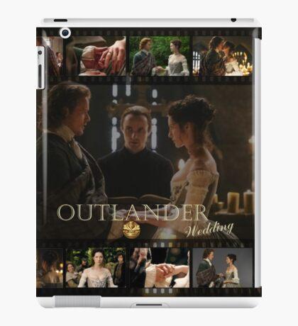 Outlander wedding collage iPad Case/Skin