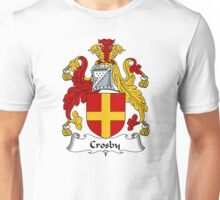 Crosby Coat of Arms / Crosby Family Crest Unisex T-Shirt