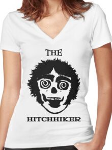 Neil Young The Hitchhiker Women's Fitted V-Neck T-Shirt