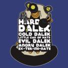 Hard Dalek Cold Dalek New Design by B4DW0LF