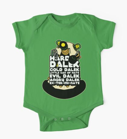 Hard Dalek Cold Dalek New Design One Piece - Short Sleeve
