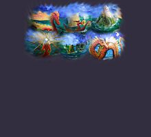 Sorserous warrior princess her fleet and her Serpent, Creamer and Sugar bowl  Unisex T-Shirt