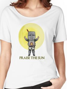 Praise the Sun Solaire Chibi Women's Relaxed Fit T-Shirt