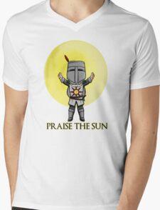 Praise the Sun Solaire Chibi Mens V-Neck T-Shirt