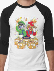 Super Punk Bros Men's Baseball ¾ T-Shirt