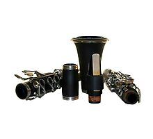 Clarinet Photographic Print