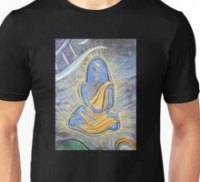 Babaji (from Chalk Meditation #4, August 2004) Unisex T-Shirt