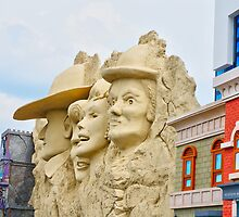 Faces by Herb Spickard