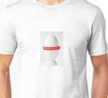 Happy Easter: White Hearts Unisex T-Shirt