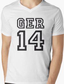 GERMANY 2014 Mens V-Neck T-Shirt