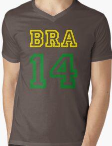 BRAZIL 2014 Mens V-Neck T-Shirt
